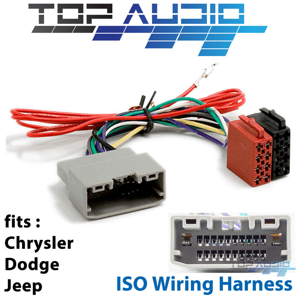 medium resolution of details about jeep iso wiring harness stereo radio plug lead loom connector adaptor