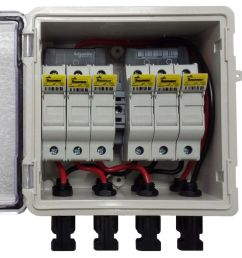 pv solar 3 string dc combiner box with 6 fuses [ 991 x 1000 Pixel ]