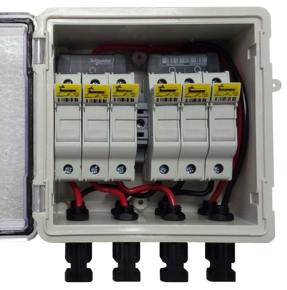 hight resolution of pv solar 3 string dc combiner box with 6 fuses