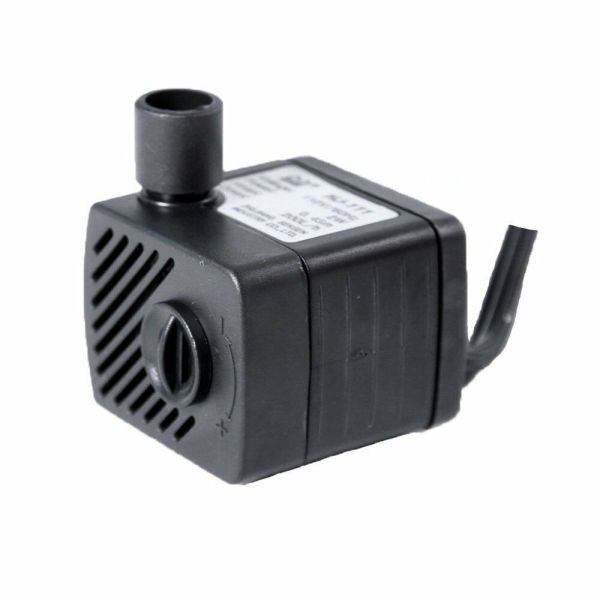 50gph Submersible Water Fountain Pump Adjustable Speed 200l Pet Dog Bowl Hj111