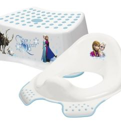 Potty Chair With Ladder Aluminum Folding Chairs Webbing New! Disney Frozen Toddler Toilet Training Seat & Step Stool Combo   Ebay