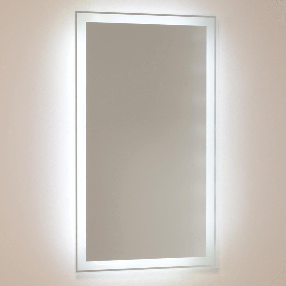 Bathroom Mirror Illuminated Light Up LED Back Lit Glass