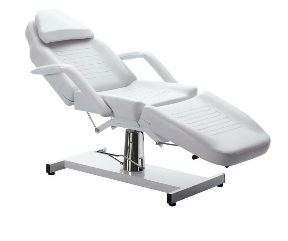 Professional Stationary Facial Massage Table Bed Chair
