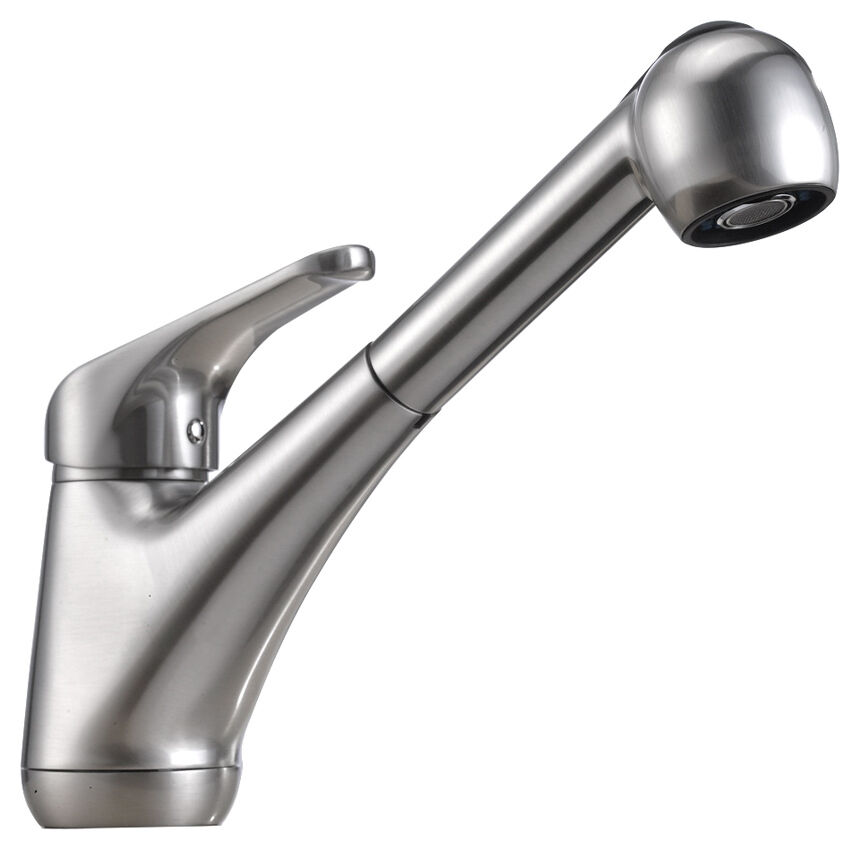 9 Single Handle Pullout Spray Professional Kitchen Faucet