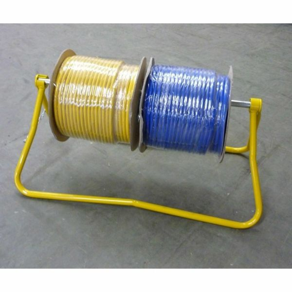Cable Reel Carrier And Stand De Reeling Dispenser
