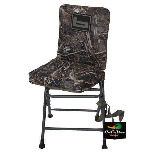 NEW BANDED SWIVEL BLIND CHAIR PADDED SEAT HUNTING STOOL
