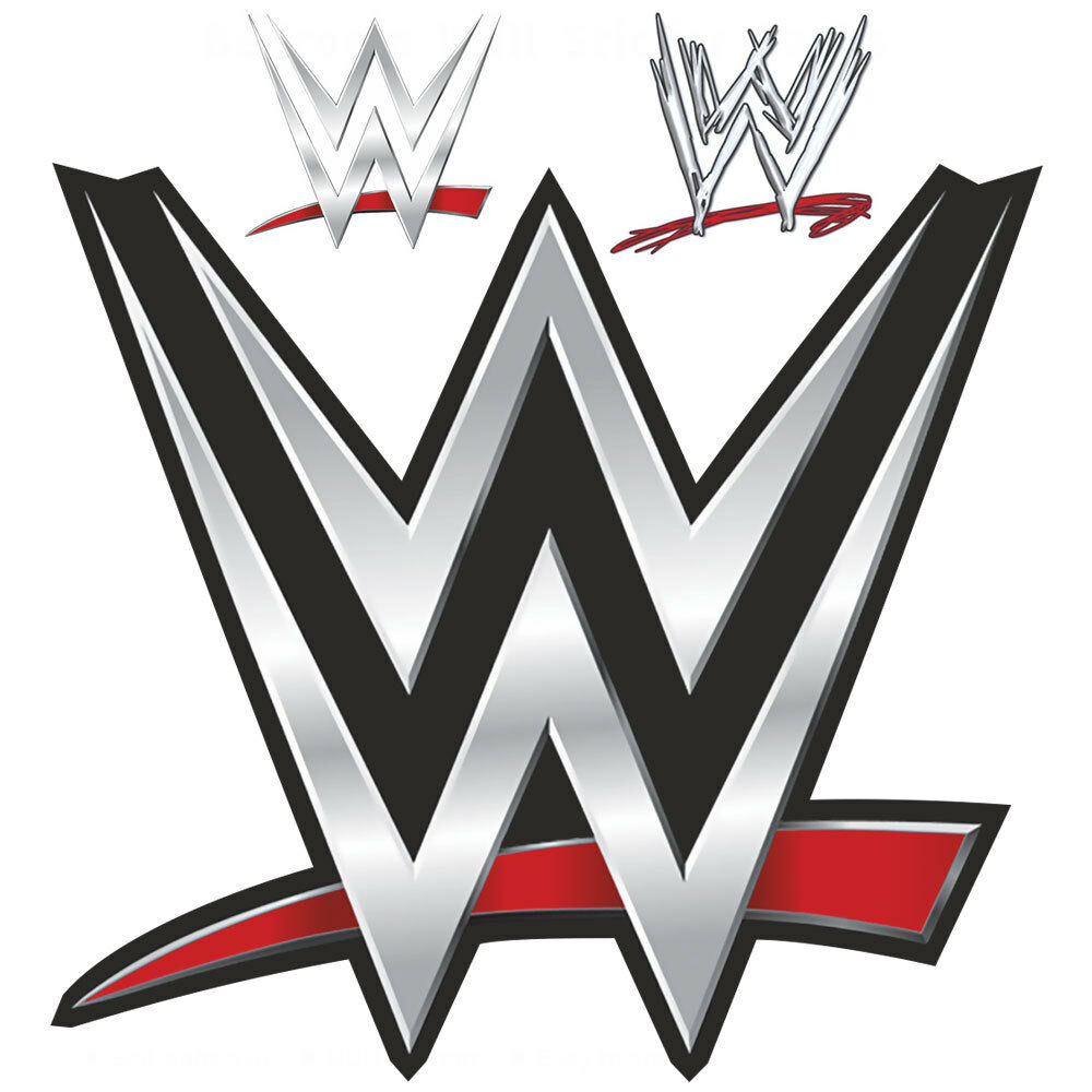 WWE LOGO Bedroom Wall STICKERS Wrestling Original Old New