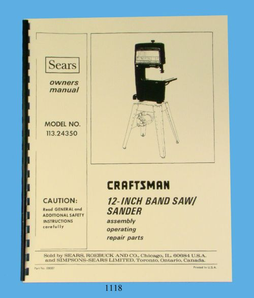 small resolution of sears craftsman manual