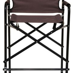Tall Directors Chair With Side Table Old Ritter Dental Aluminum Folding Director's By Tra   Ebay