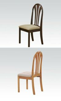 Simple Wooden Furniture Dining Chairs for Dining room in 2 ...