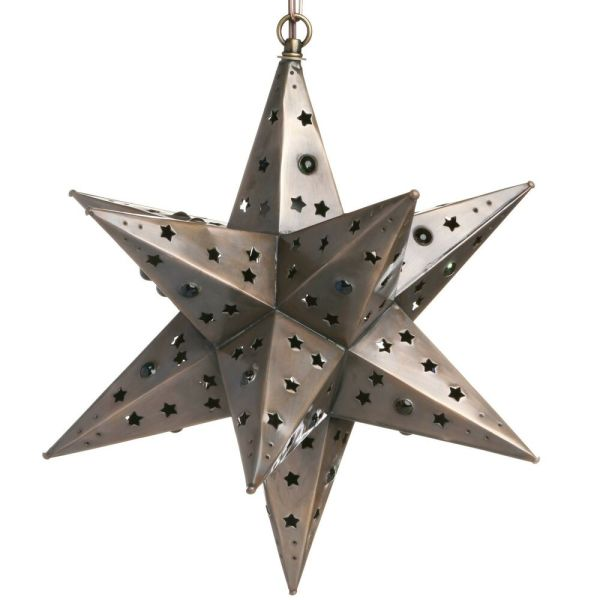 Tin Star Light - Cut With Marbles