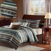 Southwest Comforter Set California King Size Blanket 7 ...