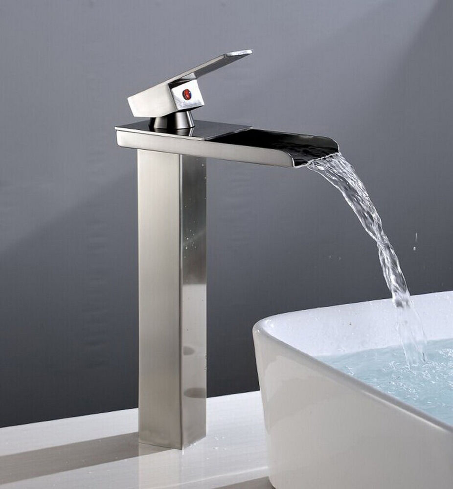 Waterfall Bathroom Sink Faucets Asmallnation