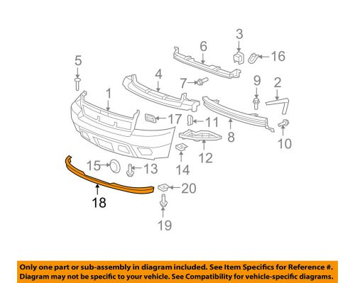 small resolution of details about chevrolet gm oem suburban 1500 front bumper spoiler lip chin splitter 15203734