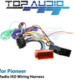 pioneer avh x2850bt iso wiring harness cable connector pioneer avh x2700bs wiring diagram pioneer wiring color code [ 1000 x 1000 Pixel ]