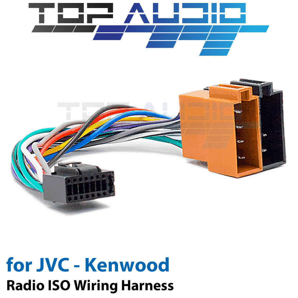 hight resolution of details about jvc kd r336 iso wiring harness cable adaptor connector lead loom wire plug