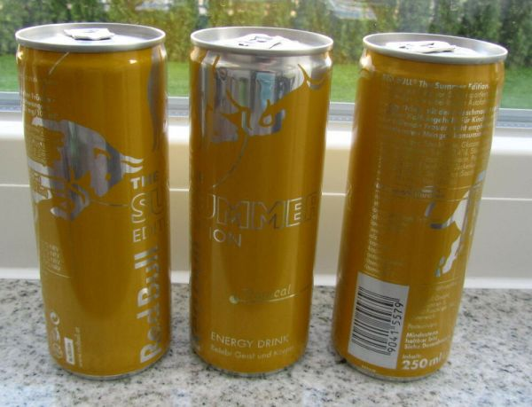 RED BULL Austria SUMMER EDITION limited TROPICAL NEW
