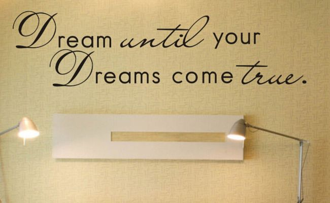 Home Decor Wall Stickers Quotes – The Home Designings