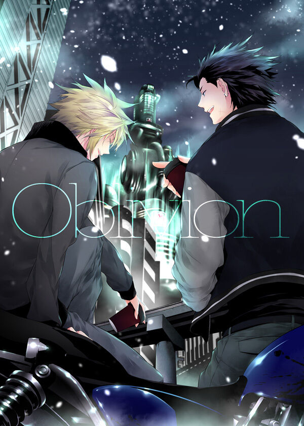 Doujinshi Final Fantasy 7 Zack X Cloud B5 30pages Oblivion YUBINBASYA FF7 EBay