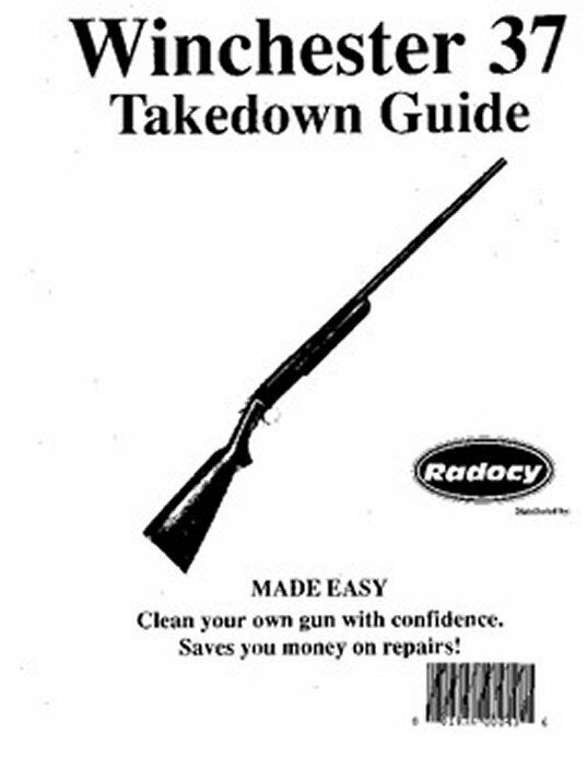 Winchester Model 37 Takedown Disassembly Assembly Guide