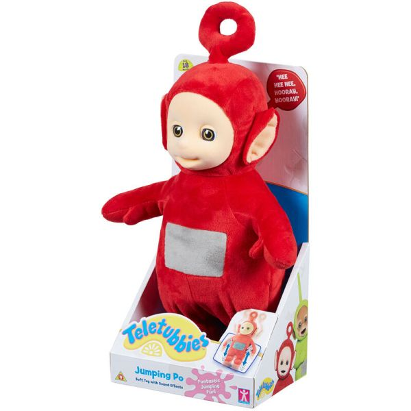 Teletubbies Jumping Po Soft Toy