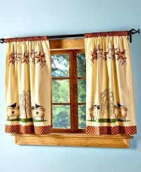 Primitive Willow Window Tier Curtain Set Country Rustic ...