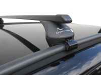 Roof Rack Rail Bars Lockable Vauxhall Zafira 2007