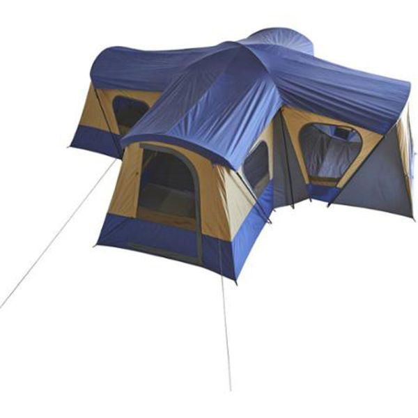 Large Camping Instant Tent 14 Person 20' X Base Camp Family Cabin Canopy