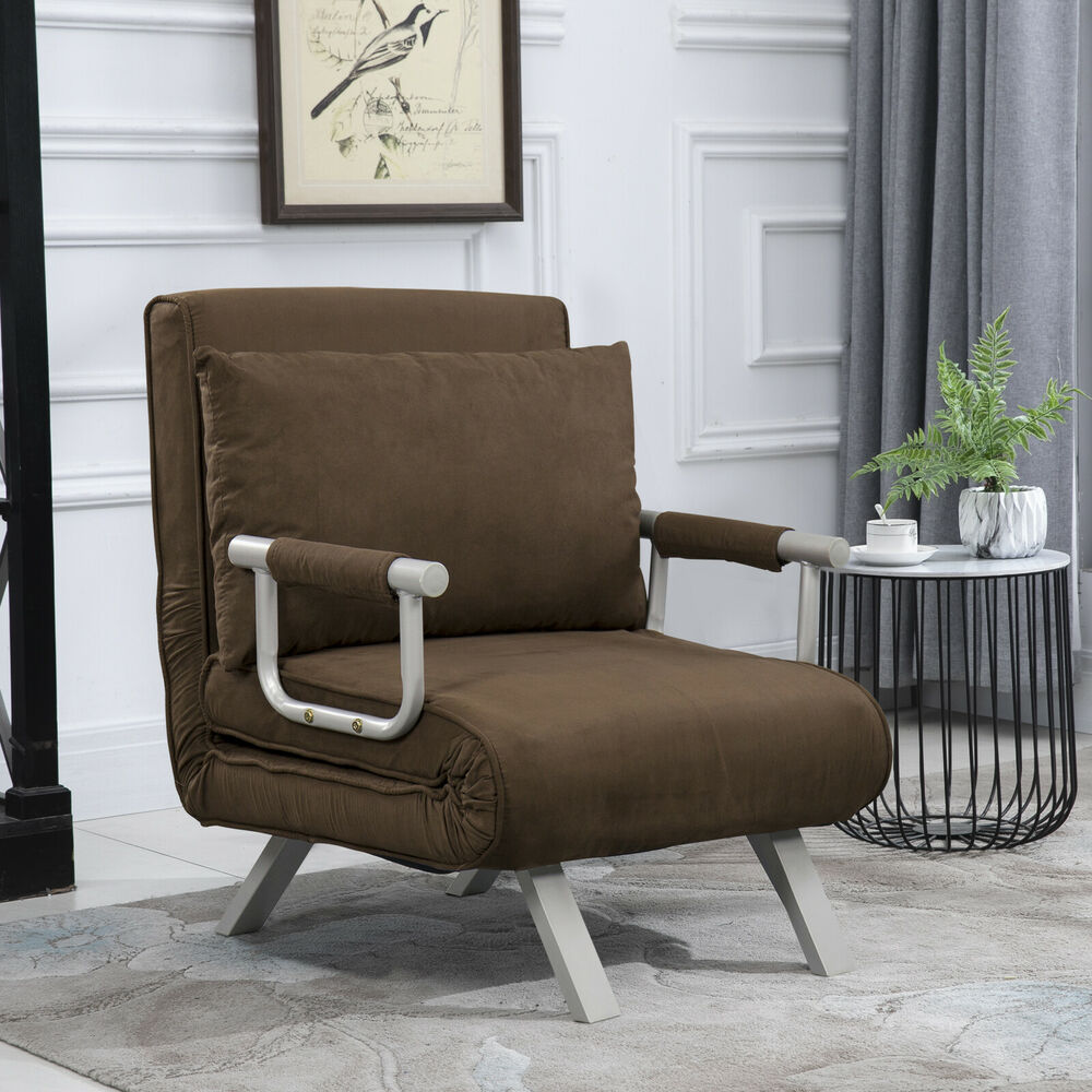 Sofa Bed Arm Chair Convertible Single Dorm Room Couch