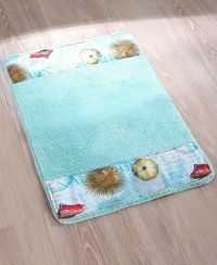 Beach Themed Bath Rugs With Original Trend In India ...