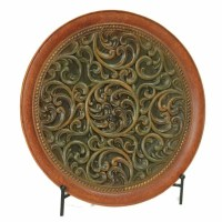 DECORATIVE CHARGER PLATE WITH STAND - CHARGER PLATE - HOME ...