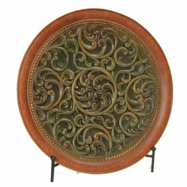 Decorative Charger Plate With Stand - Home