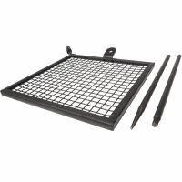 Titan Adjustable Swivel Grill Campfire Cooking Grate 40 ...