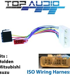 mitsubishi triton ml iso wiring harness adaptor cable connector lead triton boat wiring harness details about [ 1000 x 1000 Pixel ]