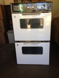 Vintage Early 1960's GE Wall-mounted Double Electric Oven ...