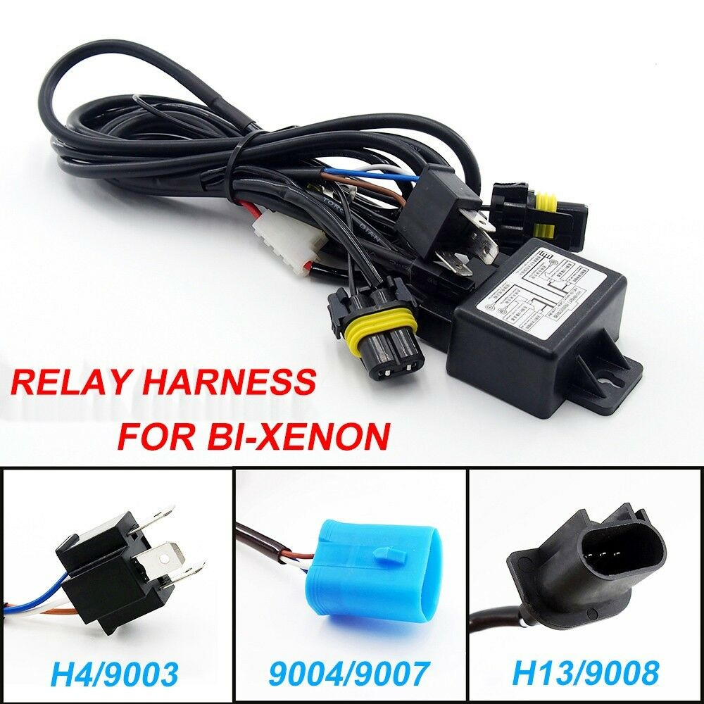 hight resolution of  xenon hid wiring hid car relay harness h4 9003 9004 9007 h13
