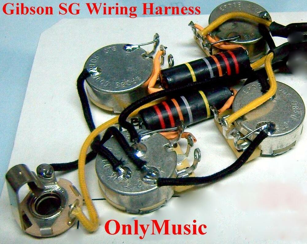 hight resolution of sg wiring harnes