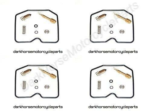 4x Carburetor Repair Kits Kawasaki ZR750 ZX750 ZL900 ZX900