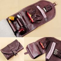 Leather Tobacco Smoking Pipe Pouch Bag Organize Pipe Tool ...