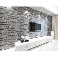 3D Faux Brick Stone Wallpaper Bedroom Living Mural Roll ...