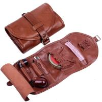 Real Leather Tobacco Smoking Pipe Pouch Bag Pipe Tool ...
