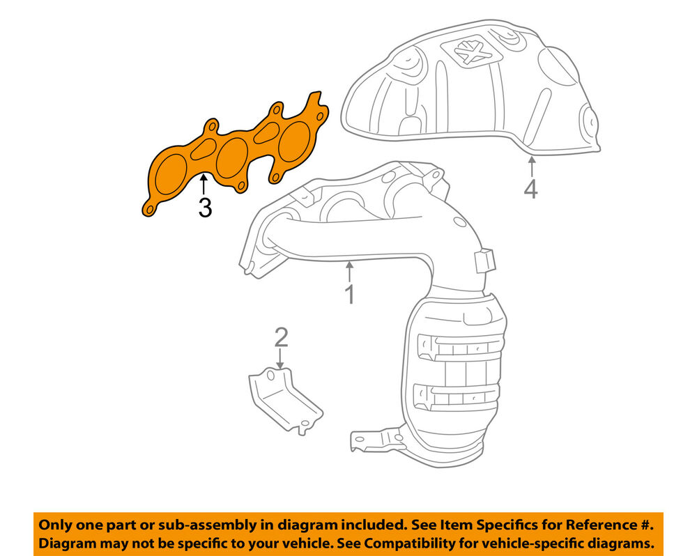 hight resolution of details about toyota oem engine intake manifold gasket 171730p020