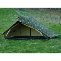 Dutch Army Canvas Tent - Woodland Camouflage One Man Camo ...