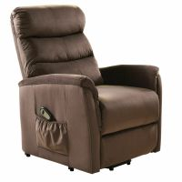 Electric Lift Chair Recliner Reclining Chair Remote Living ...