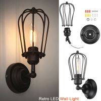 Industrial Retro LED Wall Sconce Lighting Vintage Wustic ...
