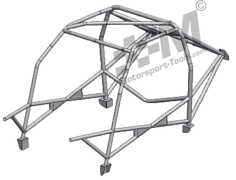 Ford Escort Mk2 Safety Devices Weld in Roll Cage CDS