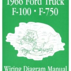 Window Wiring Diagrams Raid 5 Concept With Diagram Ford 1966 F100 - F750 Truck Manual 66 | Ebay