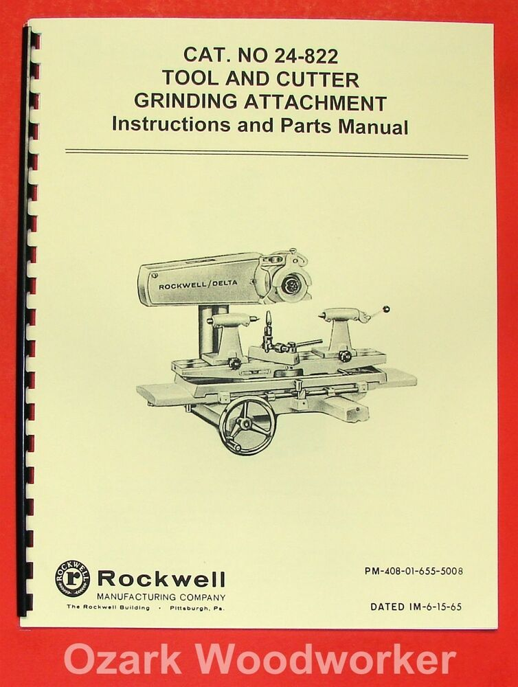 Tool And Cutter Grinder Diagram