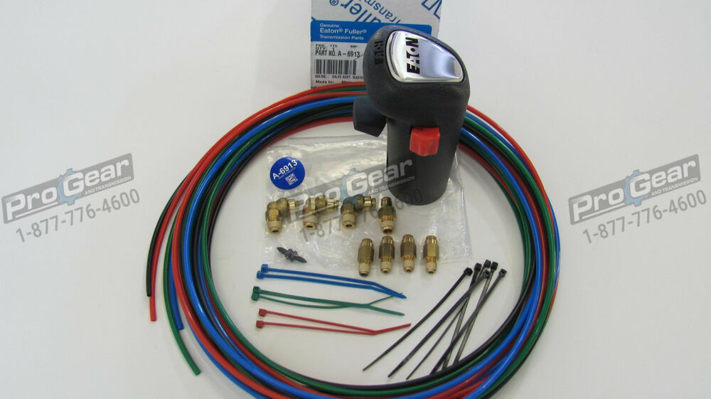 eaton fuller 9 speed transmission diagram 2004 nissan xterra stereo wiring 13 a6913 shift knob & 4 line air kit | ebay