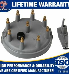 details about heavy duty distributor cap and rotor kit 84 97 fits ford f 250 f 150 f 350 8234 [ 1000 x 1000 Pixel ]